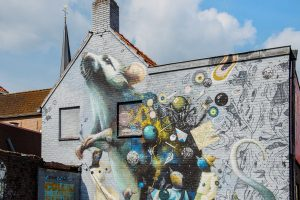 Graffiti stadswandeling Breda