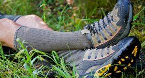 Toeractief, magazine voor fietsers en wandelaars geeft tips tegen dikke voeten