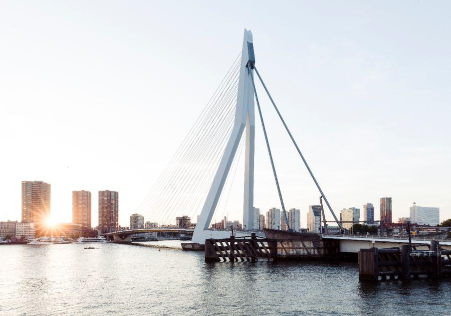 Wandelroute Rotterdam