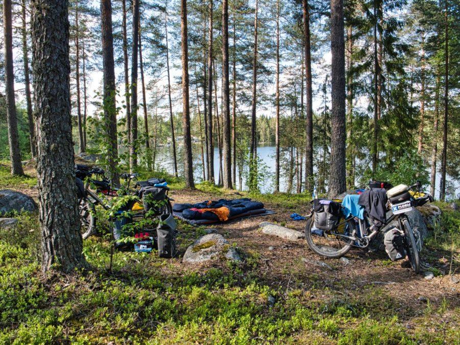 Kamperen in Finland