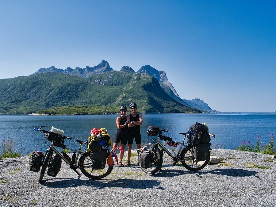 Ben en Linda maken een wereldreis op de fiets - Toeractief