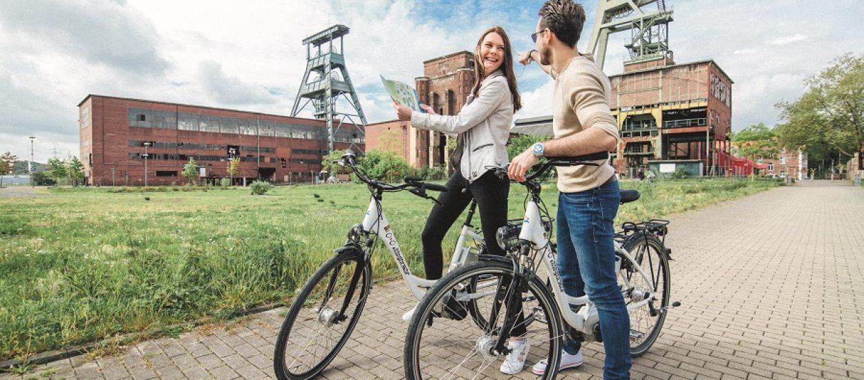 Actief zijn in het Ruhrgebied in Duitsland - Fietsen met Toeractief