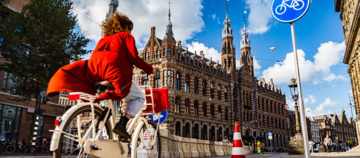 Fietser Amsterdam