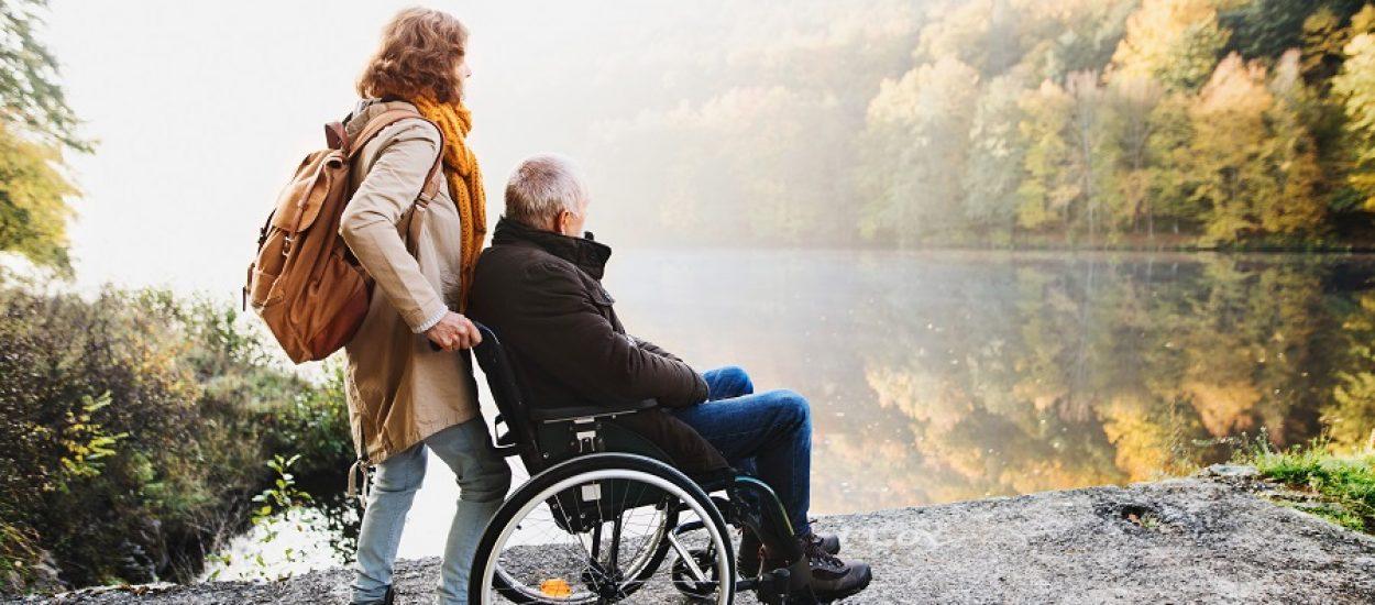 Natuur toegankelijk mensen met een beperking
