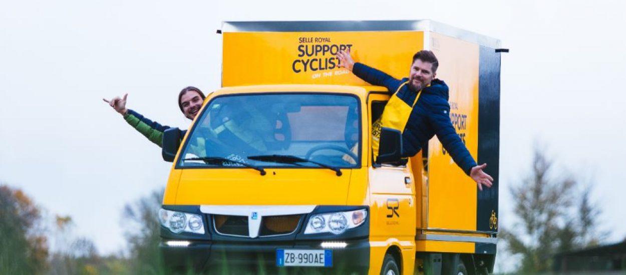 De bus van Selle Royal komt in maart naar Nederland